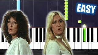 Baixar ABBA - Mamma Mia - EASY Piano Tutorial by PlutaX