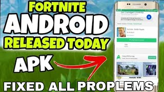 FORTNITE BETA APK|| FIXED ALL || HUMAN VERIFICATION|| AND SUPPORT ALL SMART PHONE||