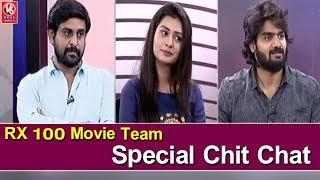 RX 100 Movie Team Special Chit Chat   Karthikeya   Payal Rajput   V6 News