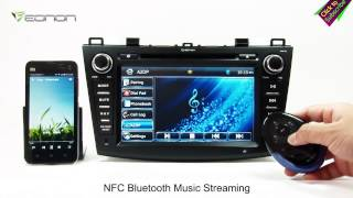 Eonon GM5163 New Mazda 3 Car DVD GPS with Screen Mirroring & Dual CAN BUS & & NFC URC(Exclusive)