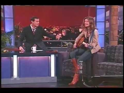 Jill Hennessy Boots Up On The Carson Daly Show Youtube