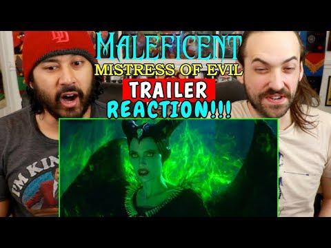 MALEFICENT 2: Mistress Of Evil   TRAILER - REACTION!!!