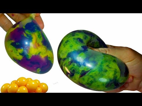 Thumbnail: Cutting Open Stress Balls and Making a Weird Squishy Thing