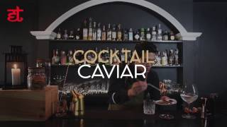 How to Make Caviar Cocktail By Benny's Cocktails & Grill Bangtao With E-Table Asia!