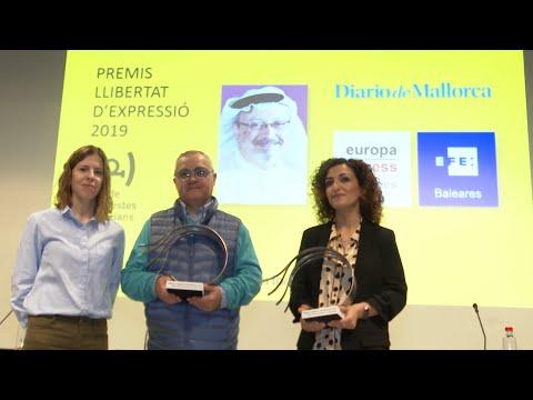 Europa Press y Diario de Mallorca recogen el Premis Llibertat d'Expressió