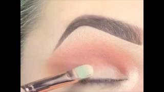Уроки макияжа. Праздничный макияж глаз