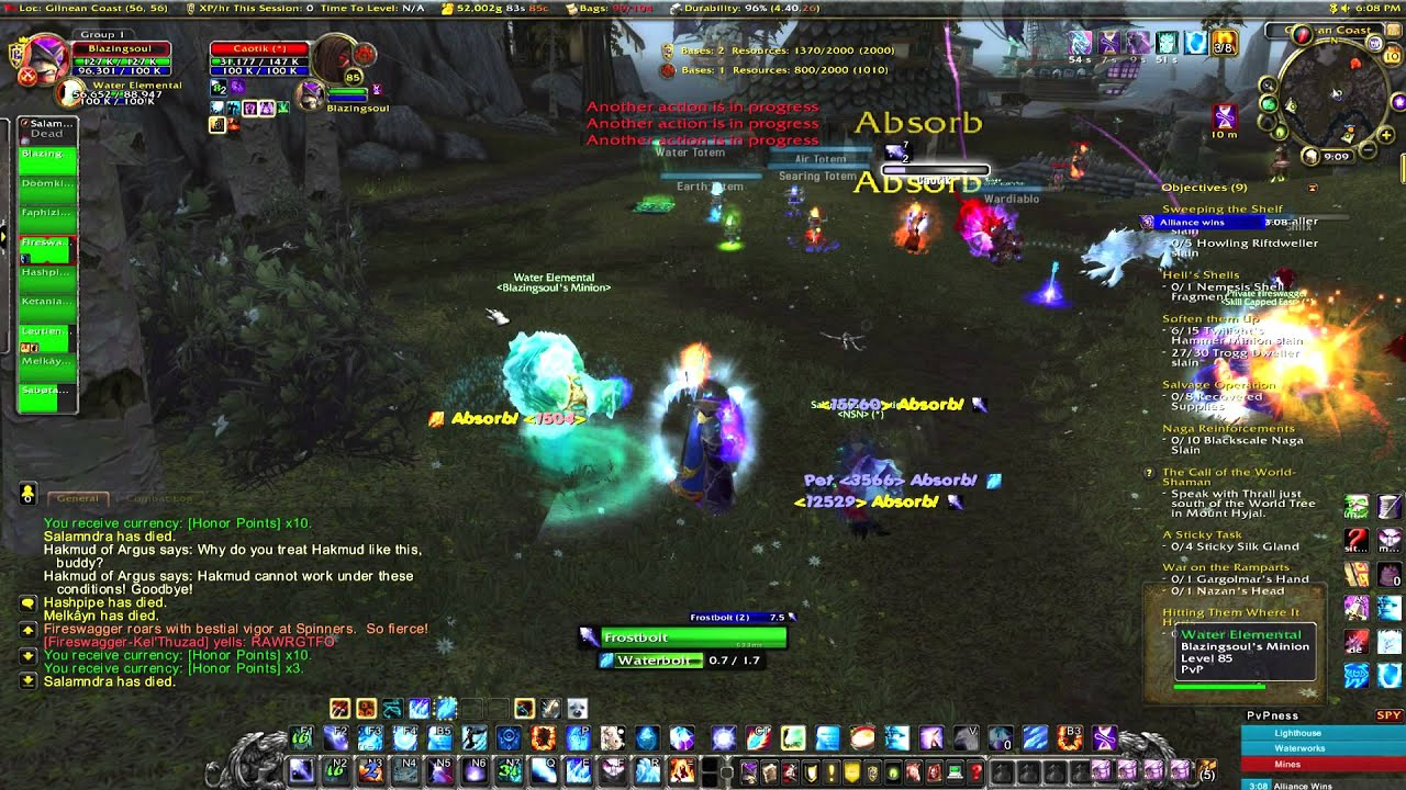 Wow Mage    Frost Pvp Build