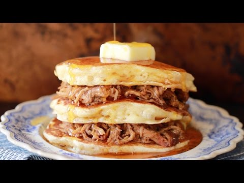 Jake Dill - How to Make Pulled Pork Pancakes with Whisky Maple Sauce