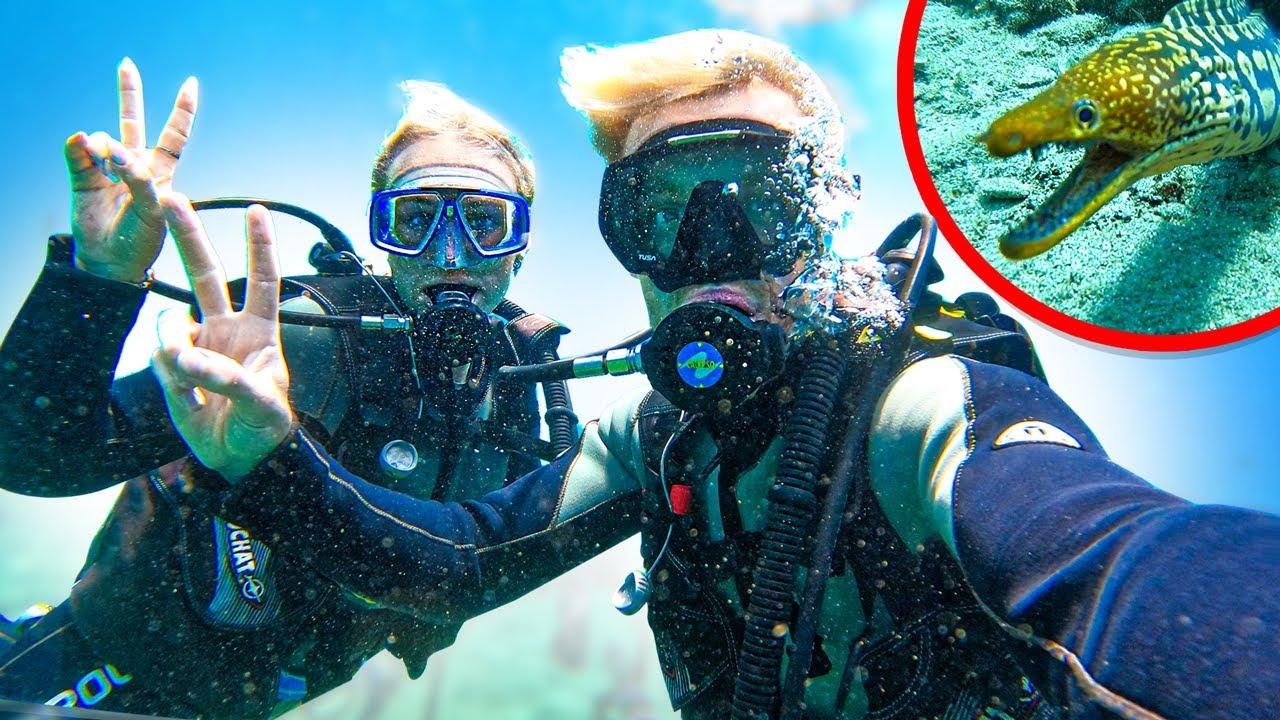 VOOR HET EERST IN MIJN LEVEN DUIKEN! (We zien tropische vissen)#2860