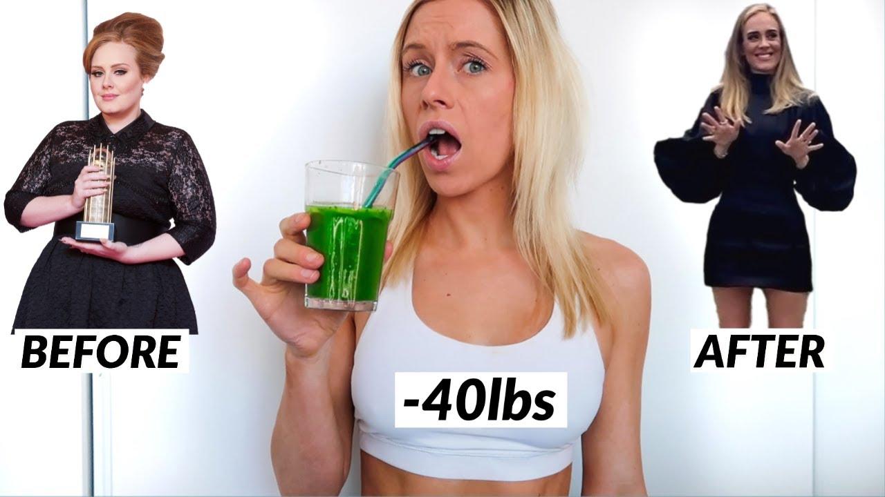 <div>I Tried Adele's 40lb Weight Loss Program SIRTFOOD DIET</div>