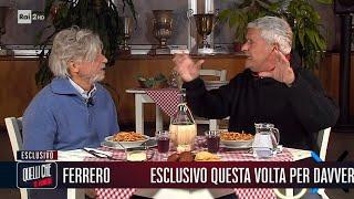 Enrico Lucci a cena con Massimo Ferrero - Quelli che il lunedì 11/10/2021