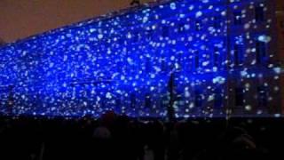 Новогоднее лазерное шоу Санкт-Петербург 2011г..AVI