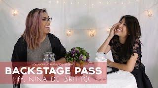 Backstage Pass Episode 1 - Nina De Britto