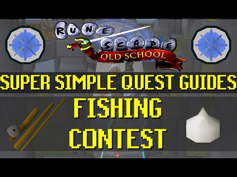 Fishing Contest - Super Simple Quest Guides - Old School Runescape [OSRS] (014)