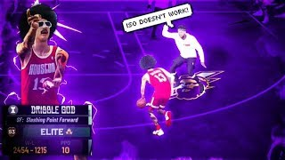 I stream sniped *TOXIC* ISO players with my 99 OVERALL STRETCH BIG in NBA 2K19...