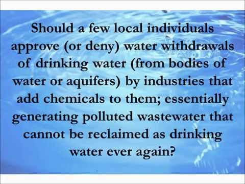Water Supply Decisions