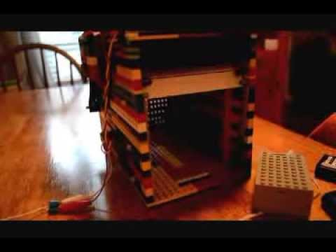 Lego Garage Door With Liftmaster 78lm Youtube