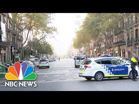 Barcelona Police: Van Crash Is Terrorist Attack | NBC News