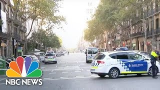 Barcelona Police: Van Crash Is Terrorist Attack | NBC News