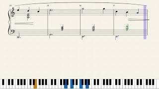 Video Satie, Gymnopédie No. 3. [Piano Tutorial + Sheets] download MP3, 3GP, MP4, WEBM, AVI, FLV Mei 2018