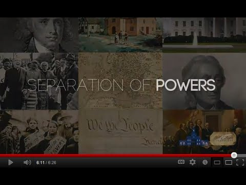 Constitutional Principles: Separation of Powers