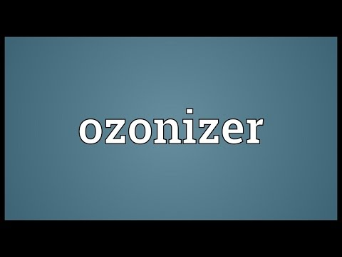 Header of ozonizer