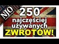 Angielski W Życiu Codziennym 😎 130 Angielskie Zwroty ...