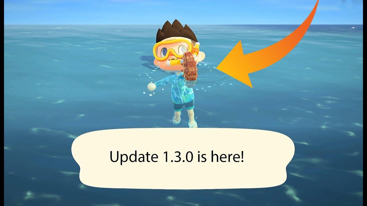 1.3.0 update | Animal Crossing New Horizons