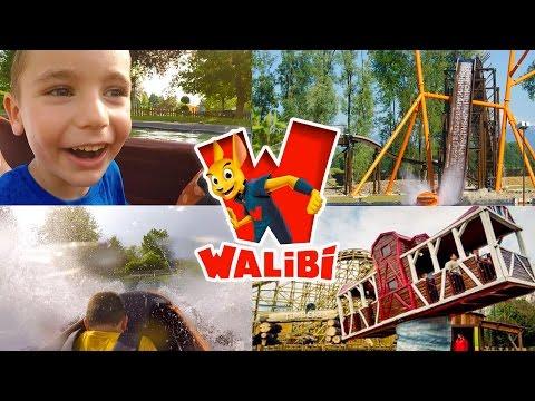 VLOG - Petites Frayeurs pour Swan au Parc d'Attractions WALIBI - 2/2