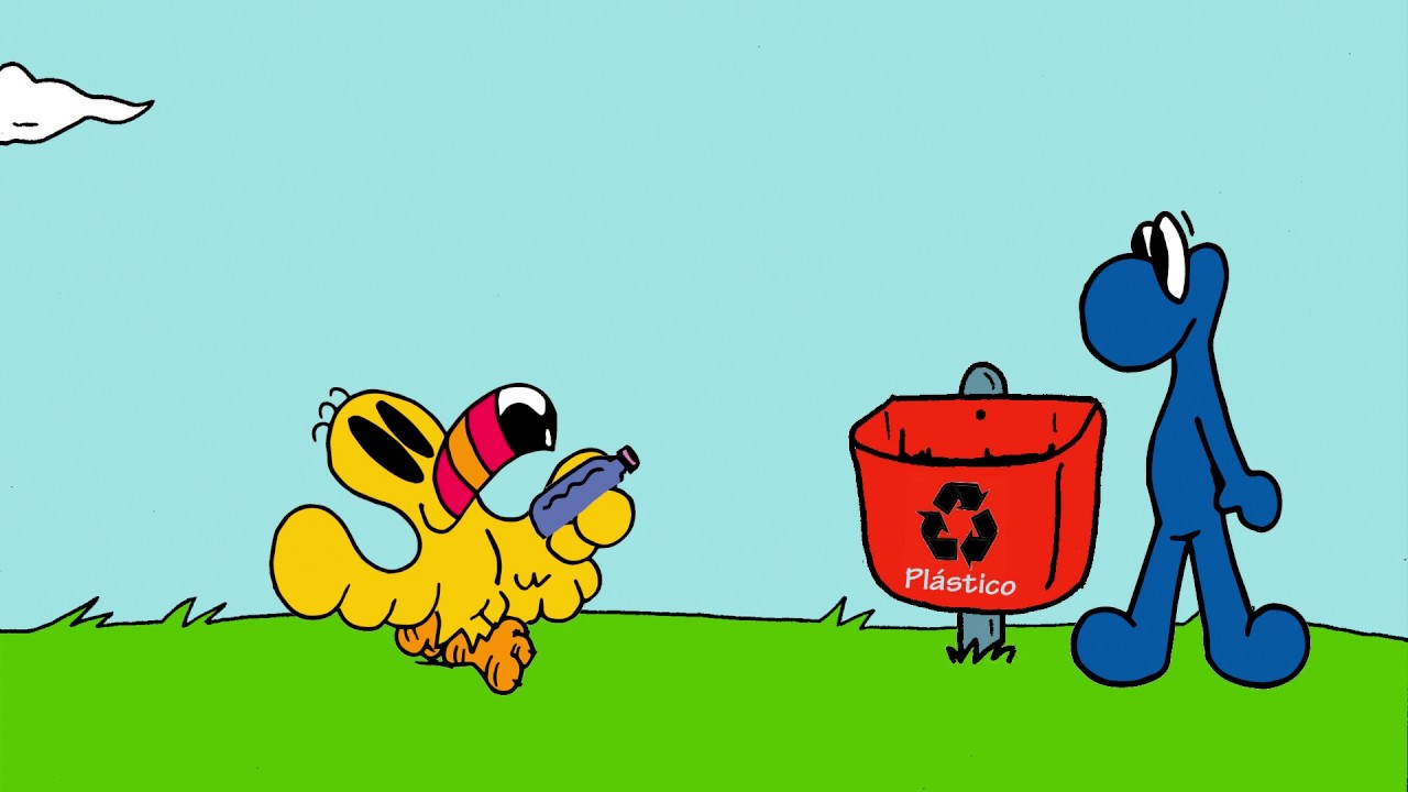 Desenho Animado Sobre A Coleta E Reciclagem Do Lixo Oi O Tucano