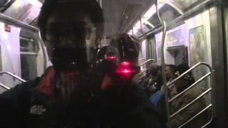 IRT Eastern Parkway Line: R142 5 Train from Borough Hall to Franklin Avenue