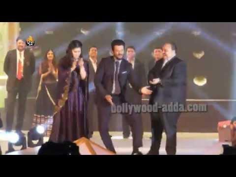 Sunny Leone, Anil Kapoor Walking The Ramp For 3rd India Bullion Jewellery Award 2015