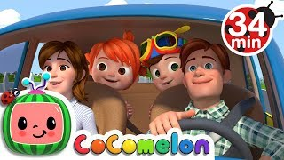 'Are We There Yet?' Song | +More Nursery Rhymes & Kids Songs - ABCkidTV