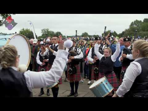 The Vale Drum Corps led by Adrian Hoy - World Pipe Band Championships 2018
