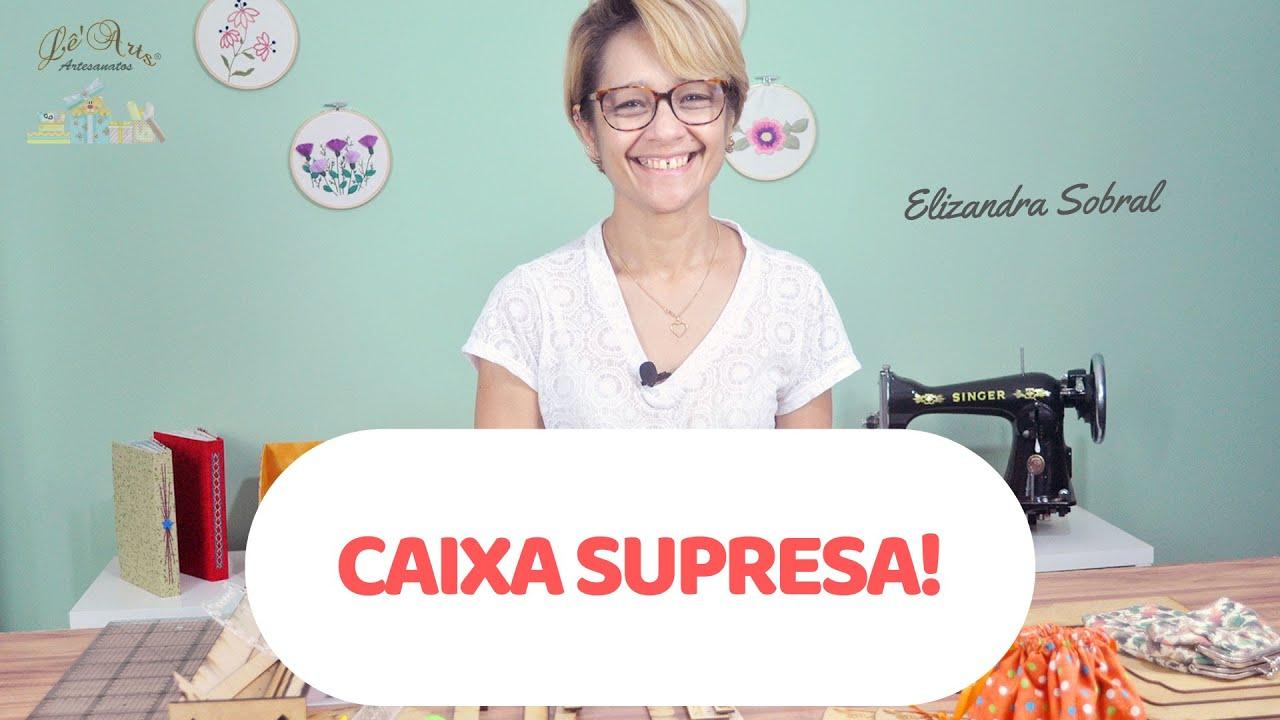 Download CAIXA PORTA JOIAS EM CARTONAGEM | Elizandra Sobral | Lê'Arts Artesanatos