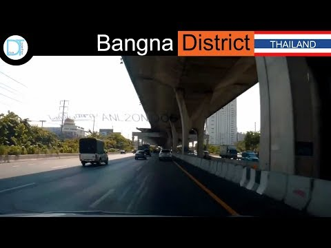 Driving to Bangna District l Bangkok l Thailand l Drive together