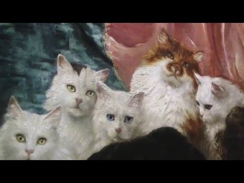 The world's greatest cat painting visits the Portland Art Museum