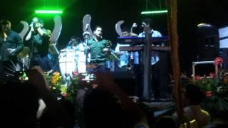 Charlie Cardona con Porfi Baloa y sus Adolescentes en Coscomatepec en vivo