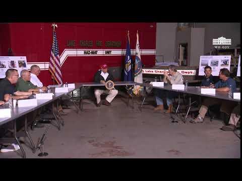 President Trump Delivers Remarks In Lake Charles, LA
