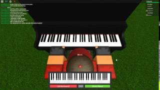 Demons by: Imagine Dragons on a ROBLOX piano. [Easy]