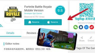 Fortnite Mobile - RESERVE DOWNLOAD LINK ANDROID IOS