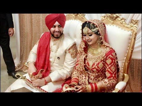 PUNJABI SIKH WEDDING: PARM & LUVLEEN | LifeWithLuvleen