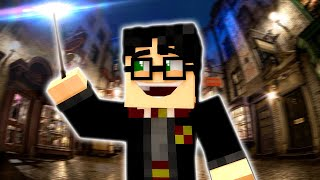 Harry Potter The Movie (Minecraft Roleplay) WIZARD BATTLES!