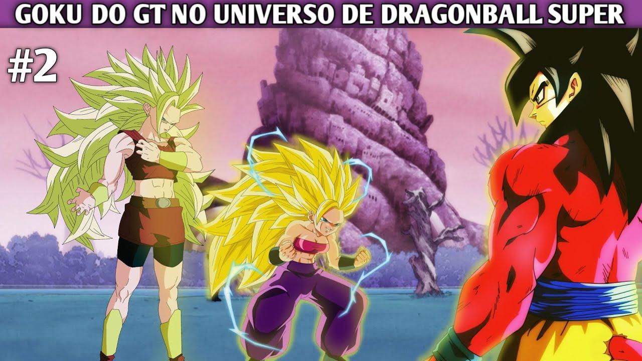 Download Goku do GT no universo de Dragonball Super PT 2 REMAKE (FANFIC)