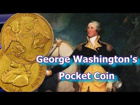 George Washington's 1792 Washington President Gold Eagle Pocket Coin