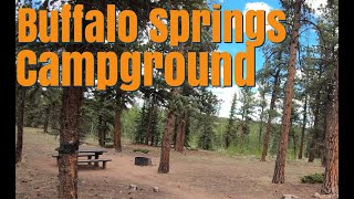 Buffalo Springs Campground - Soขth Park Colorado