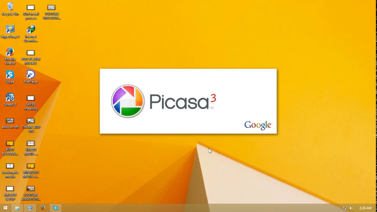 picasa photo viewer only