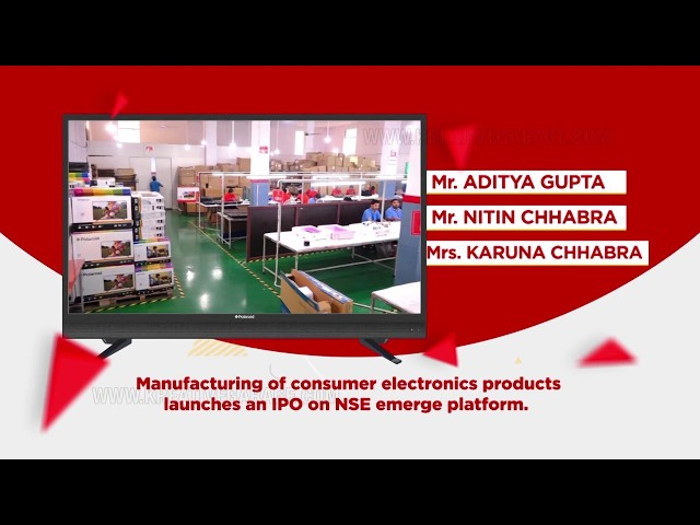 TVC IPO Launch for PowerFul Technology | Kreative Garage Studios | Mumbai, India