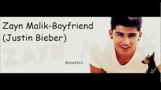 Zayn Malik singing Boyfriend (Justin Bieber)
