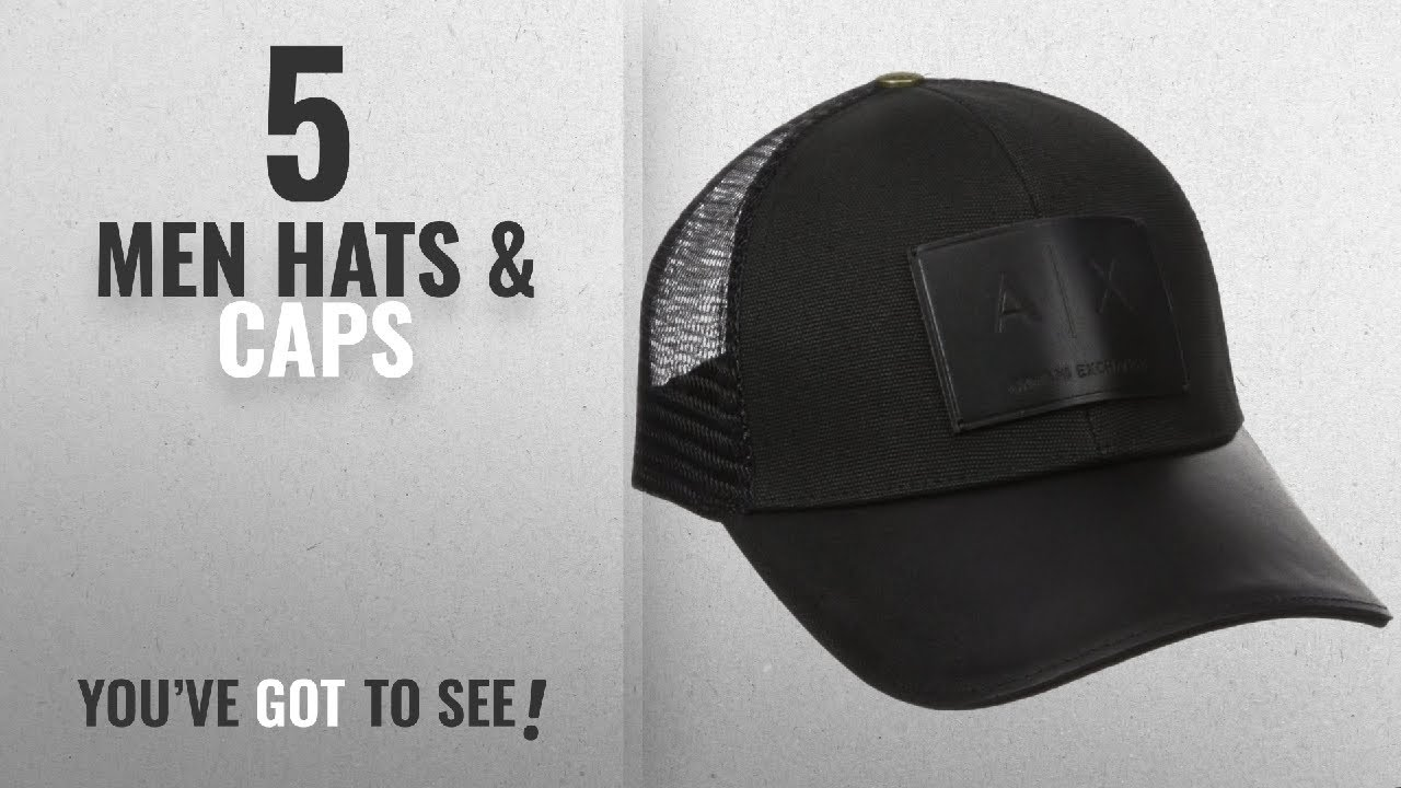 39721a87 Armani Jeans Hats & Caps [ Winter 2018 ] | New & Popular 2018 - YouTube